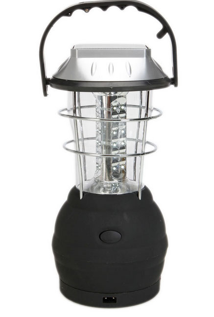 Outdoor Super Bright 3 Modes Hand Crank Solar 36LED Lantern