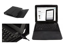 Bluetooth Keyboard and Stand Case for Apple iPad 2