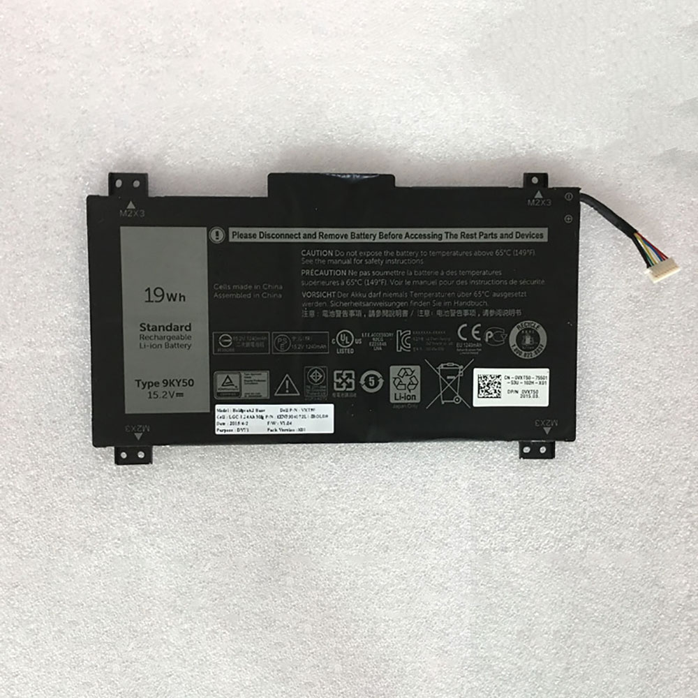 Dell 9KY50 batteries