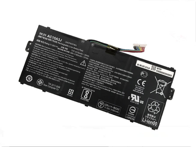 Acer AC15A3J battery for Acer Chromebook R11 CB5-132T CB3-131 C738T C735