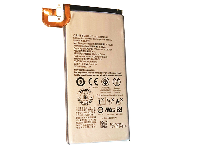 Blackberry laptop battery BAT-60122-003
