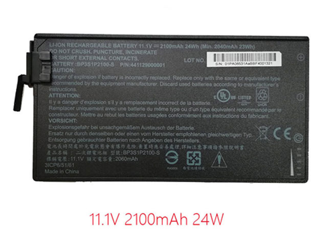 Getac BP3S1P2100-S laptop battery