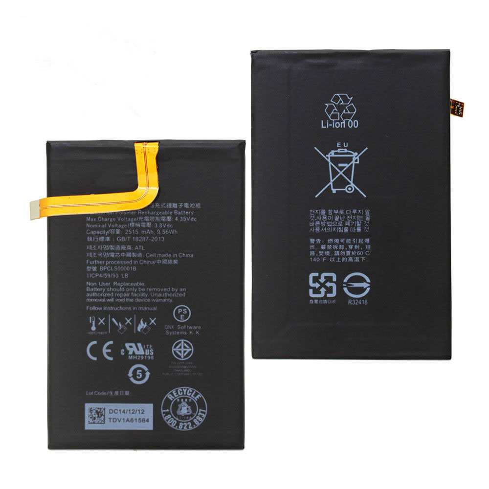 BlackBerry BPCLS00001B batteries