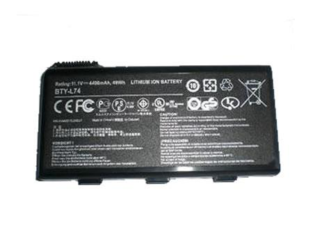 MSI MS-1682 957-173XXP-101 BTY-L74 batteries