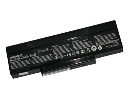 MSI BTY-M68 BTY-M67 S91-0300250-CE1 batteries
