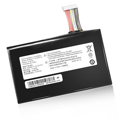 Getac GI5CN-00-13-3S1P-0 batteries