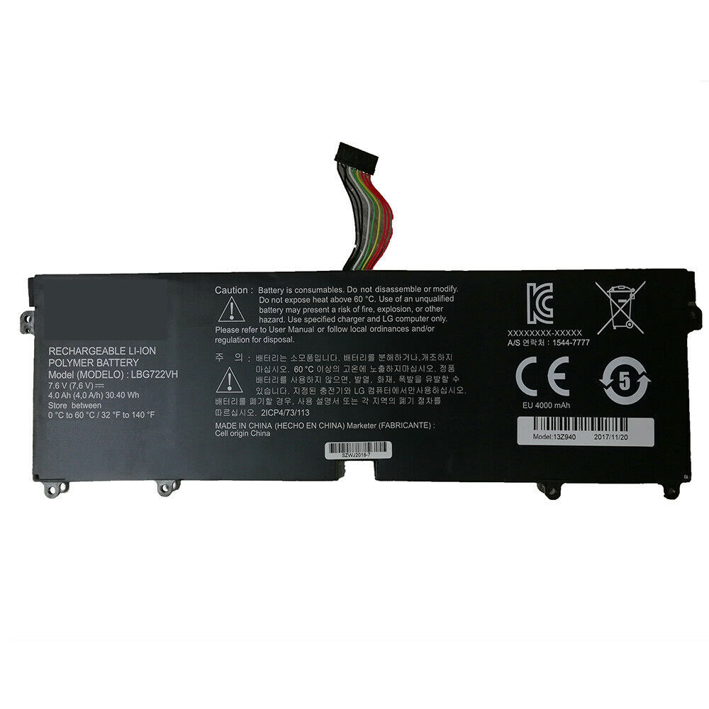 LBG722VH batteries