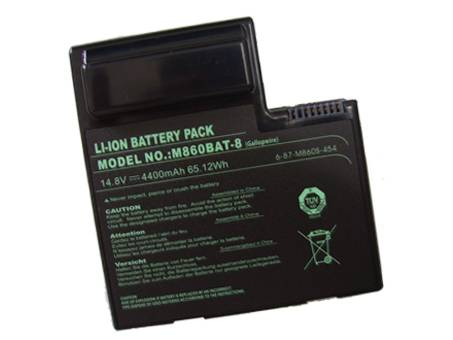 M860BAT-8 6-87-M860S-454 batteries