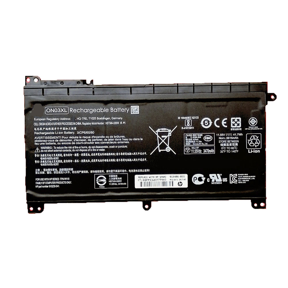 HP ON03XL batteries