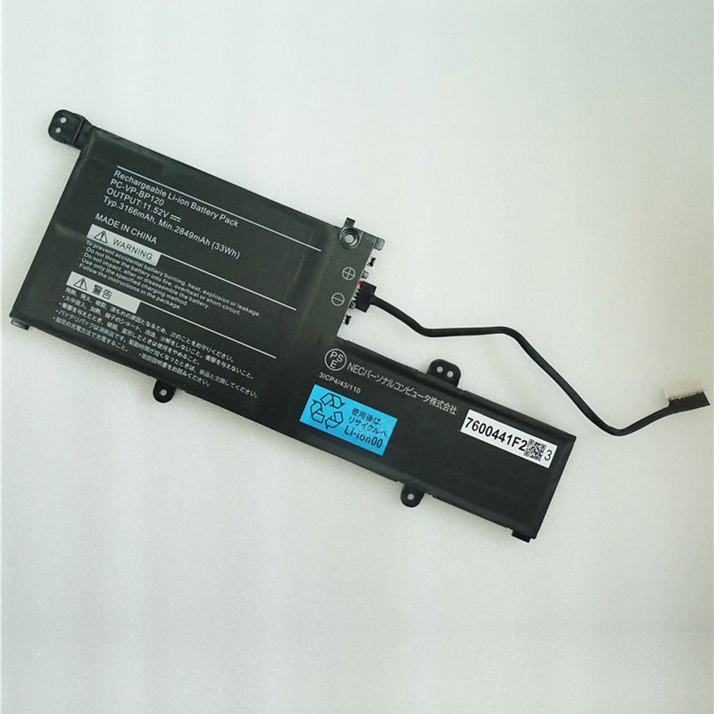NEC PC-VP-BP126 laptop battery