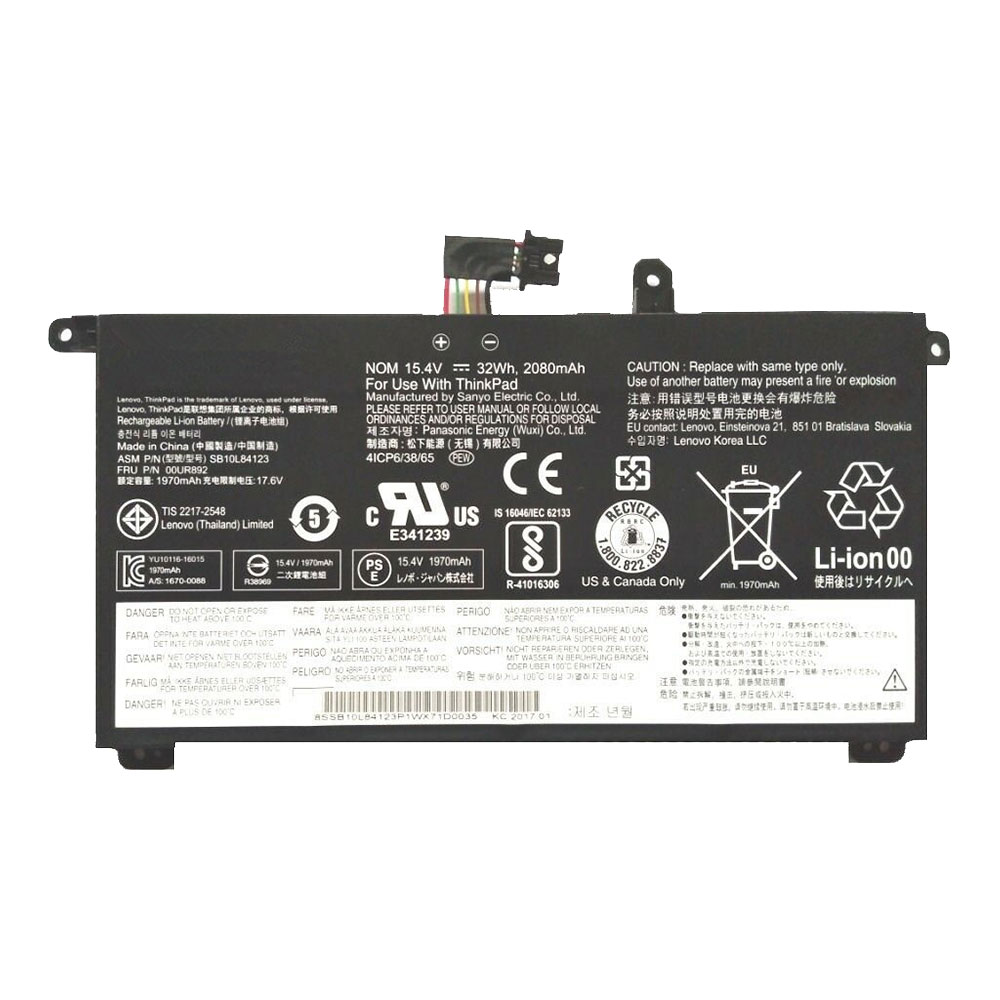 Lenovo 00UR891 batteries
