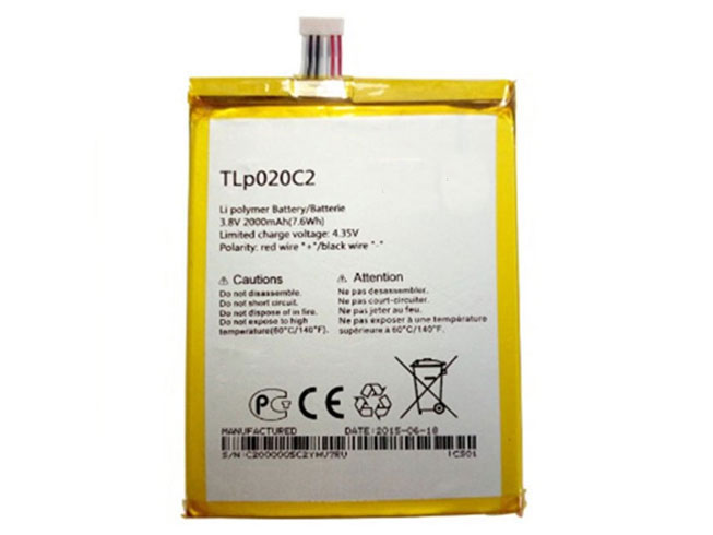 Alcatel TLp020C2 batteries