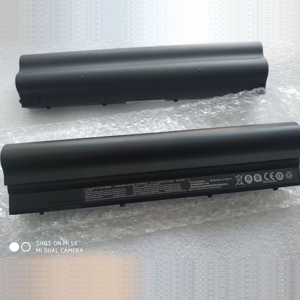 Clevo W217BAT-3 batteries
