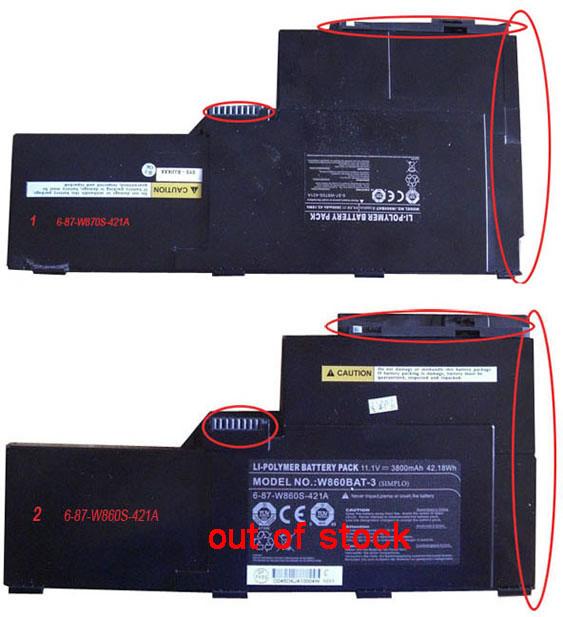 CLEVO W86 W870S W860S Series